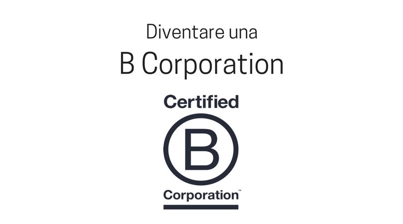 Diventare b corporation